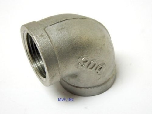 "1/8"" 150# Cast Threaded 90° Elbow 304 Stainless Steel"