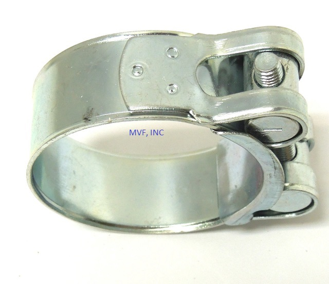 "One Bolt Hose Clamp T Bolt Zinc Plated 17mm ~ 19mm, 11/16"" ~ 3/4"""