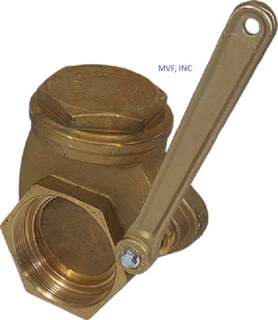 "Threaded End (NPT) Gate Valve 3"" 200 WOG, 125 SWP , Heavy Cast Bronze Body, Quick Action Gate Valve Quick Opening Gate Valve"