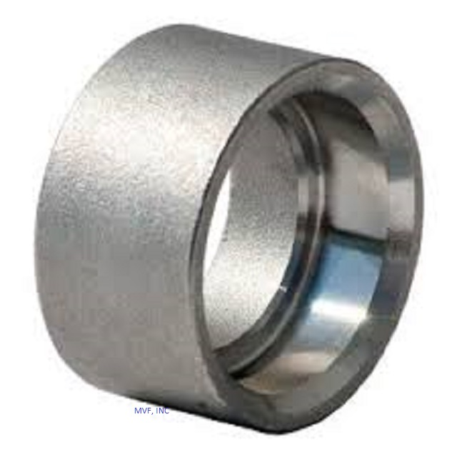 "1/2"" 3000# Socket Weld (SW) Half Coupling Forged Steel A105"