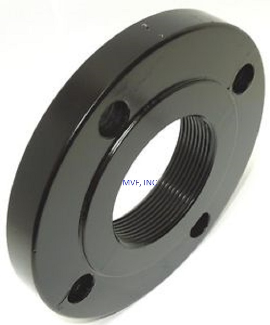 "1"" 150 RF THREADED FLANGE CARBON STEEL A105 ASME B16.5"
